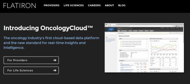 Flatiron OncologyCloud digital health