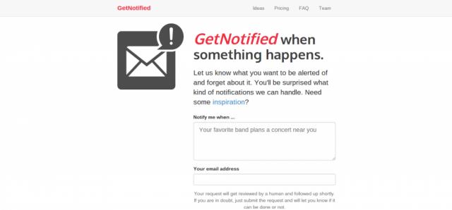 Get Notified