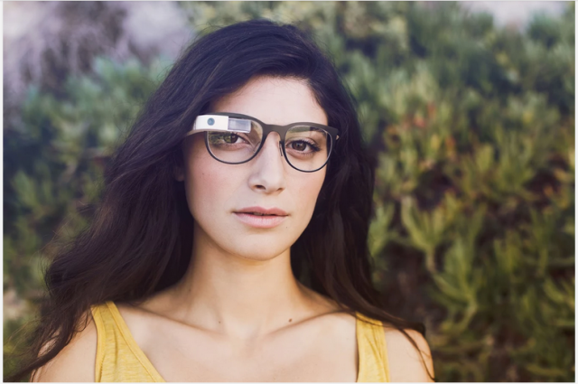 Google Glass white