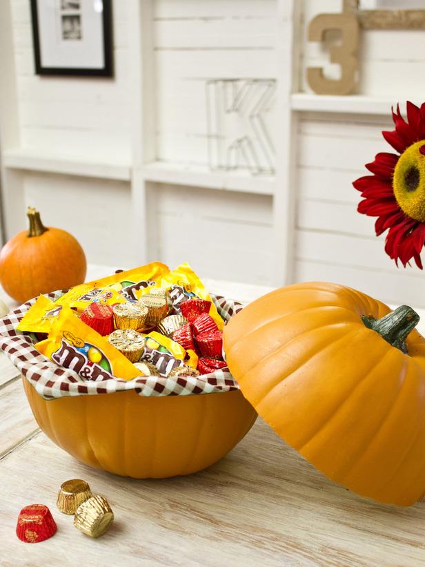 Pumpkin Candy Dish