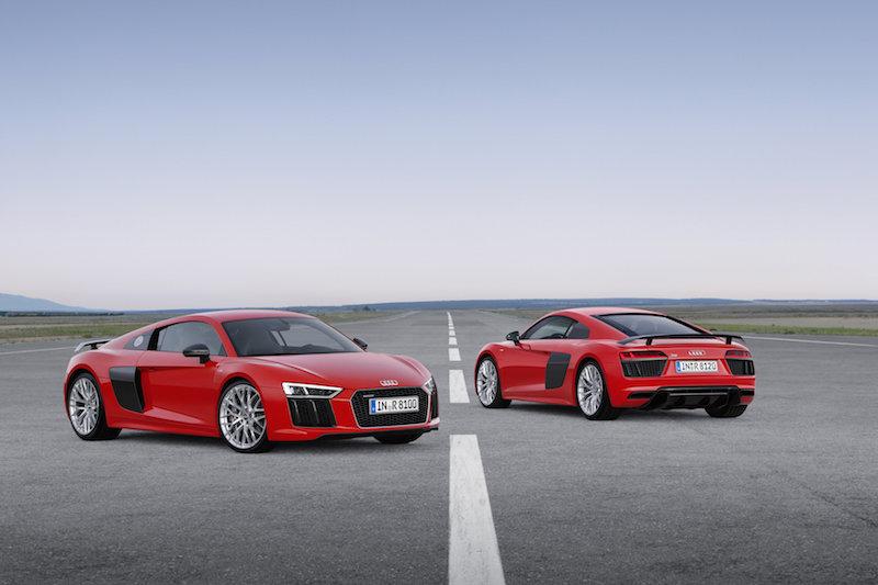 Audi R8 V10 plus Static photo Colour: Dynamit Red