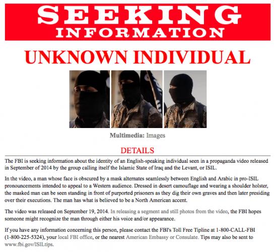 FBI ISIL