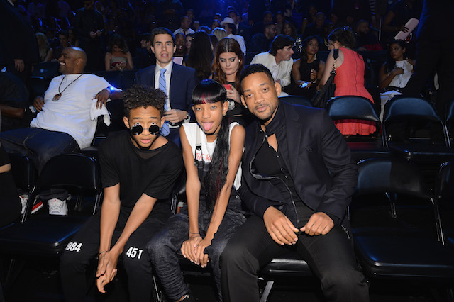 Jaden, Willow, and Will Smith