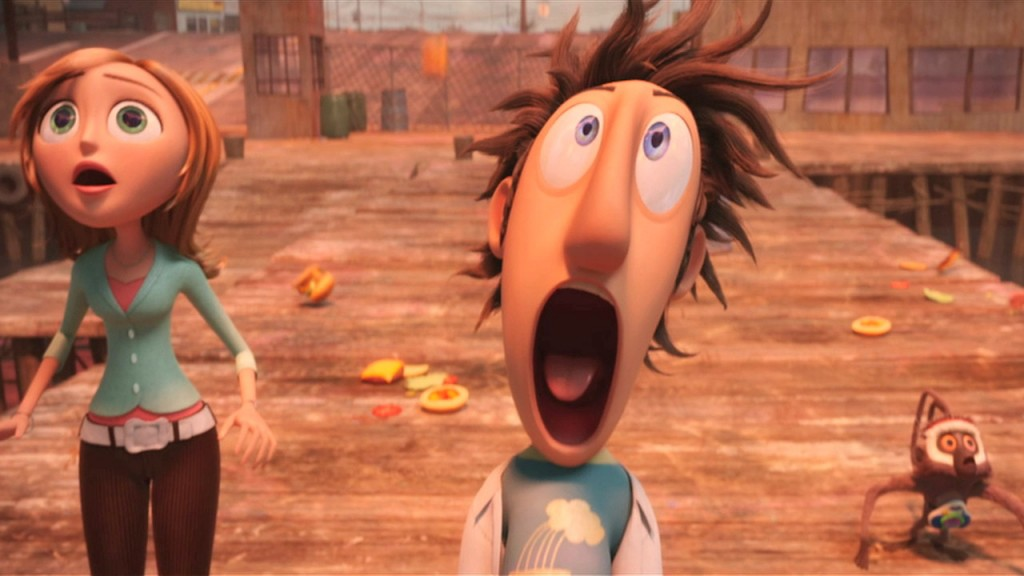 characters from Cloudy with a Chance of Meatballs