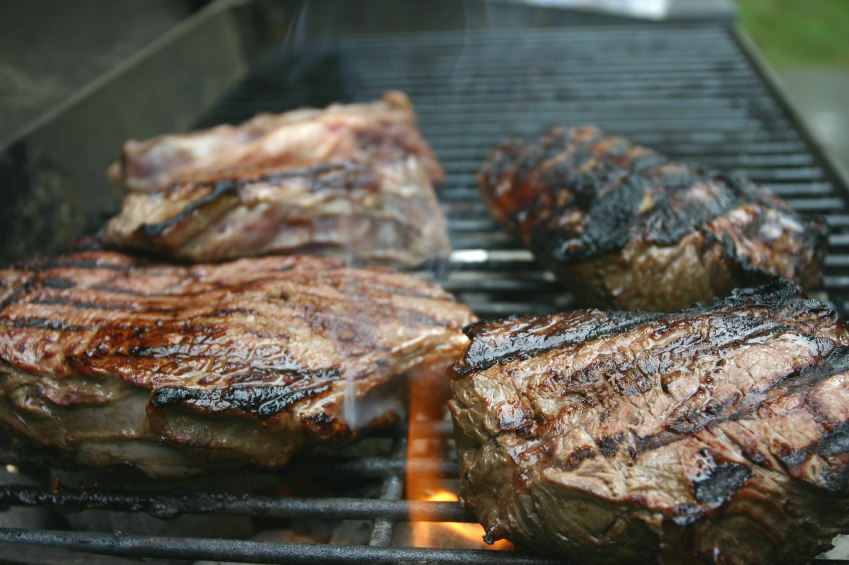 Steak, grilled