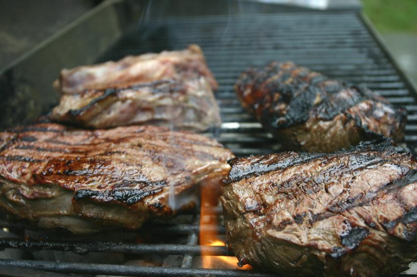 Steak, grilled