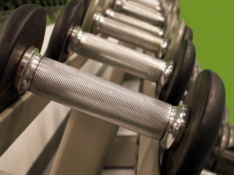 Barbells, weights