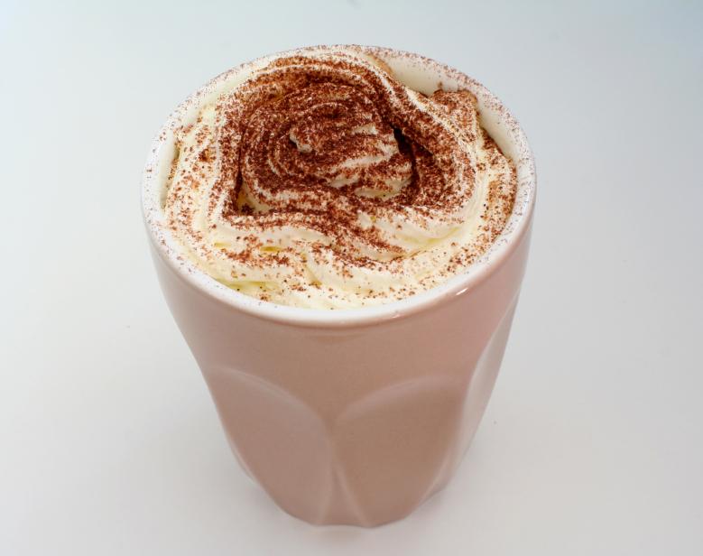 Chocolate Milkshake, drink, whipped cream