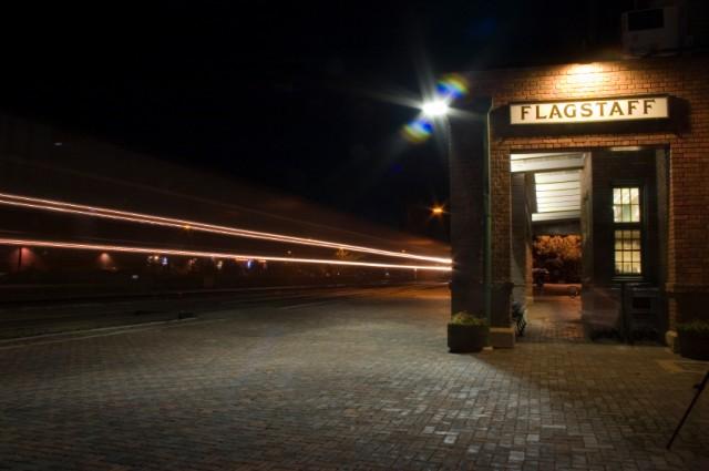 Flagstaff, Arizona, Train station