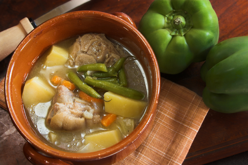 Pork stew with veggies and potatoes