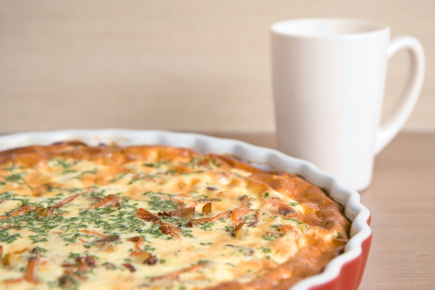 Make French recipes with this French quiche lorraine