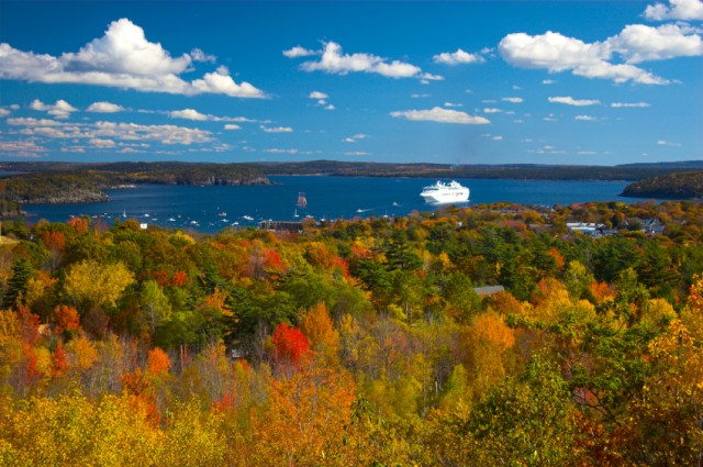 Acadia National Park, Maine, fall