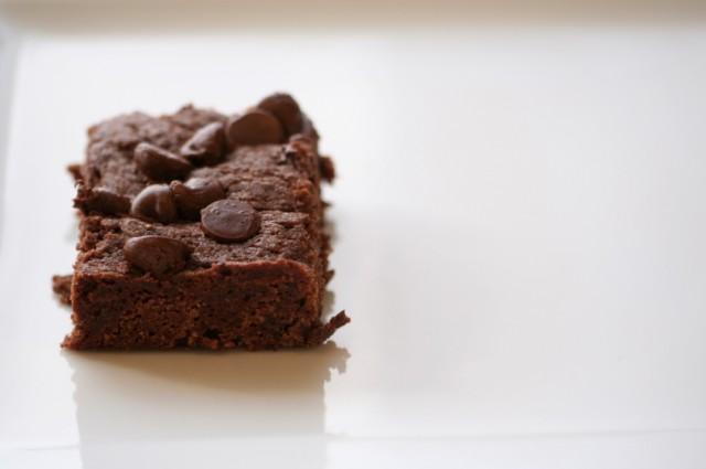 Chocolate Chocolate Chip Brownies