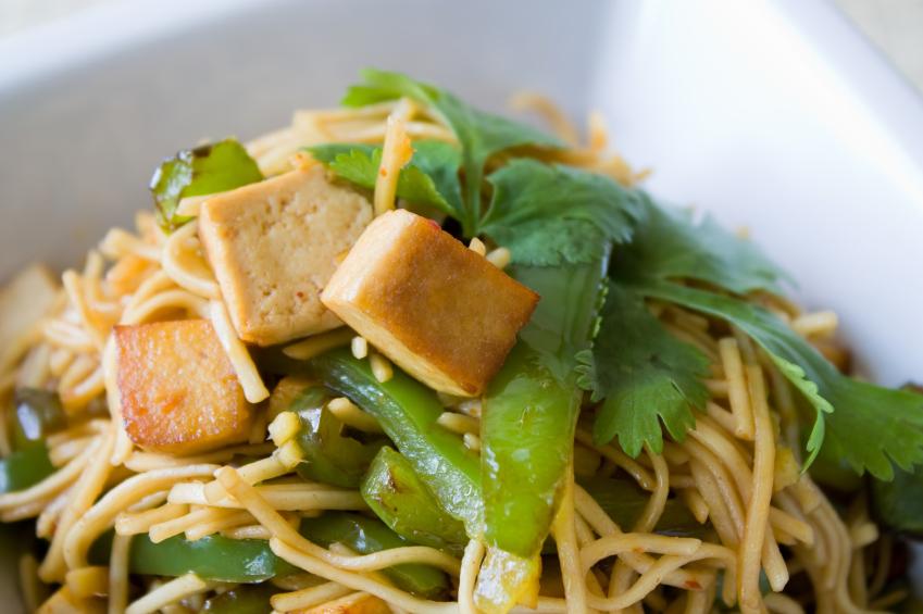 Fried Noodles, Tofu