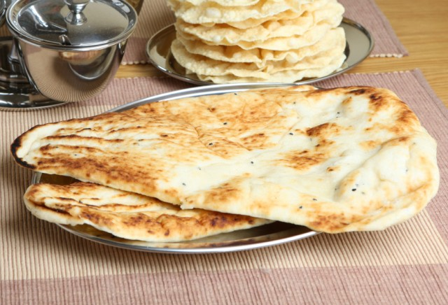 Use your griddle to make naan