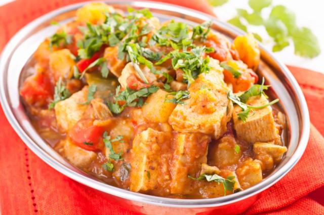 Paneer Vegetable Jalfrezi, tofu