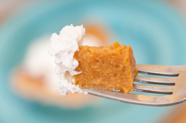 Pumpkin Pie, Whipped Cream