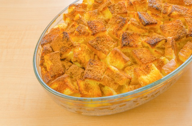 French Toast, bread pudding