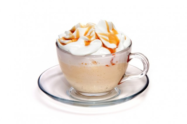 Coffee, mug, drink, caramel