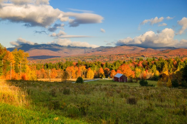 Mt. Mansfield, Stowe, Vermont, fall