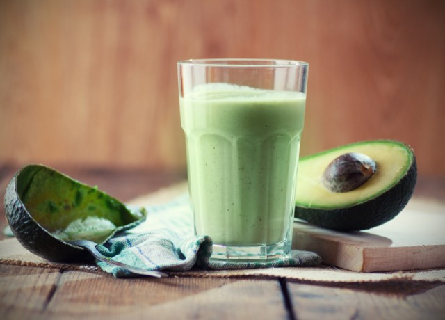Avocado smoothie, drink