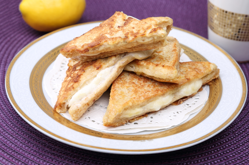 Grilled cheese, sandwich, panini