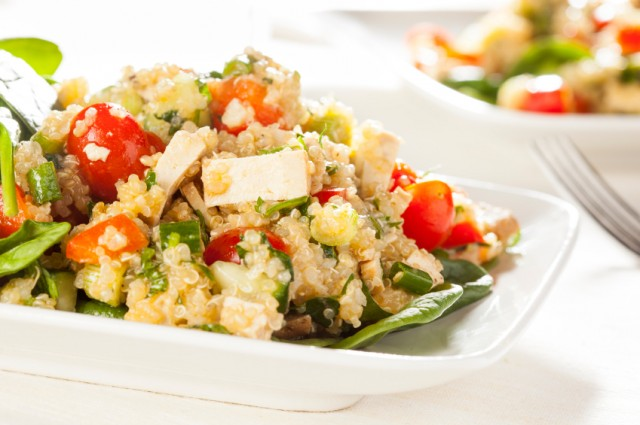 Quinoa Salad, vegetables