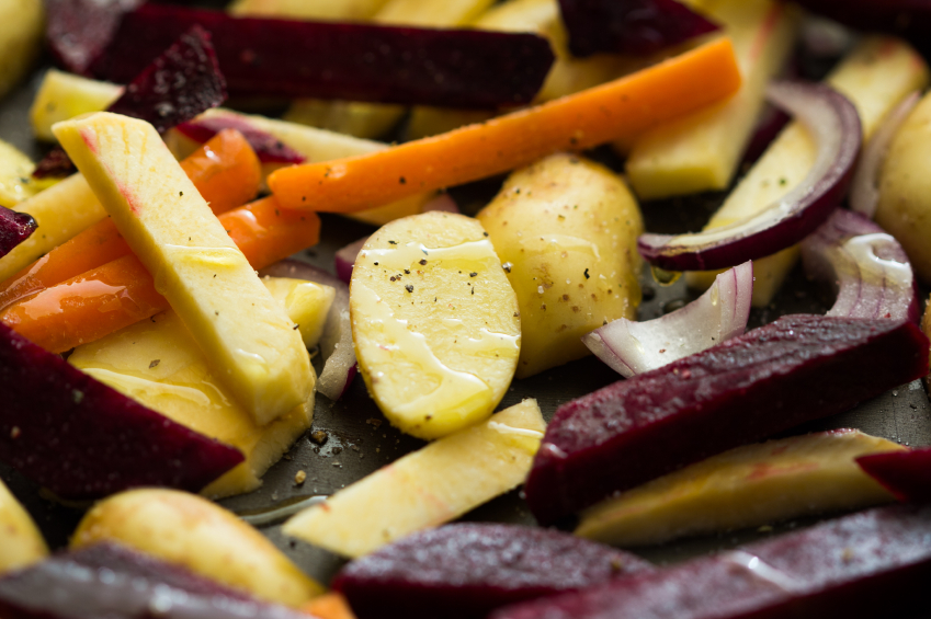 Sweet and spicy vegetables