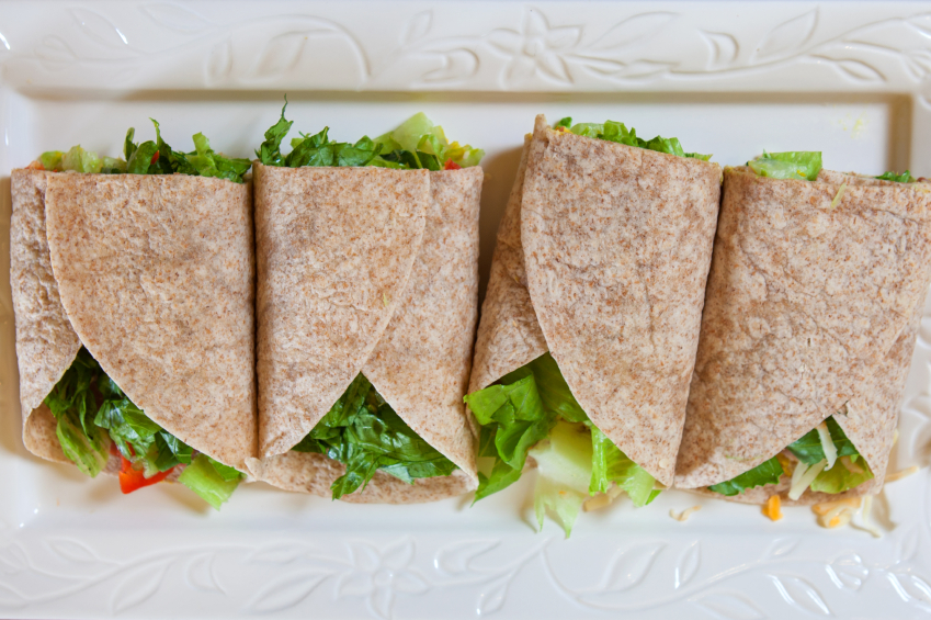 Vegetable Wrap, Tortilla