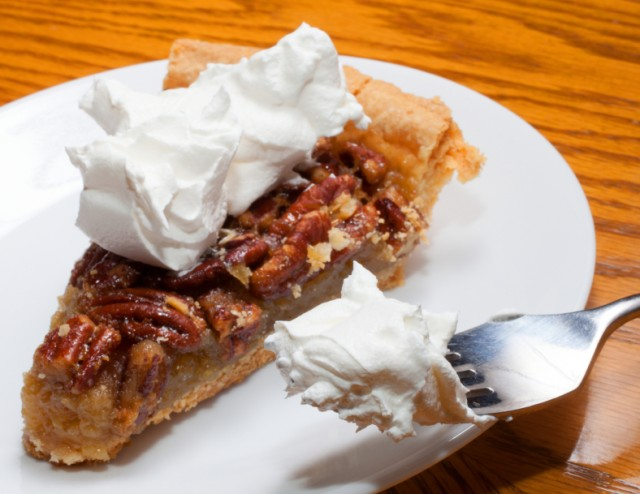 Pecan Pie, Whipped Cream