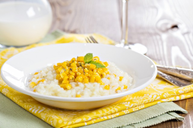 oatmeal with corn