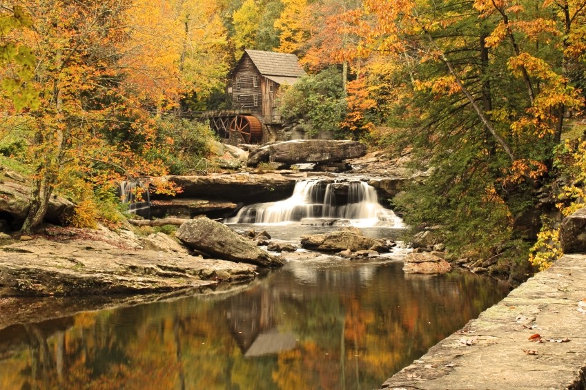 scenery in West Virginia