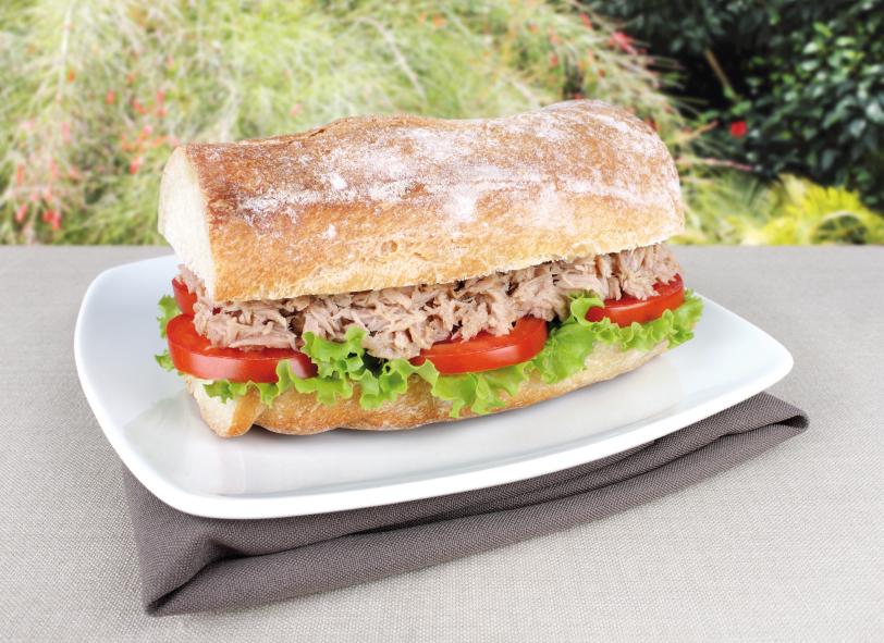 Tuna Sandwich, Tomato, Lettuce