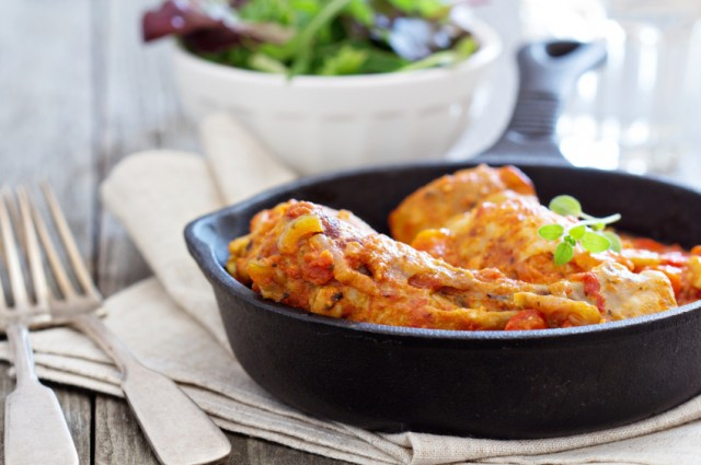 Creole baked chicken