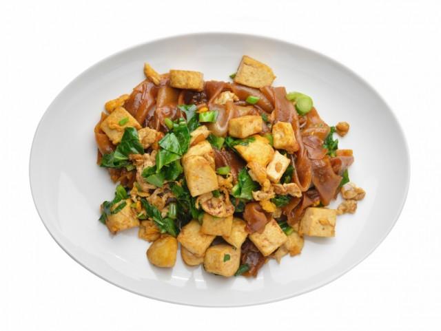 Stir Fry, Rice Noodles, tofu