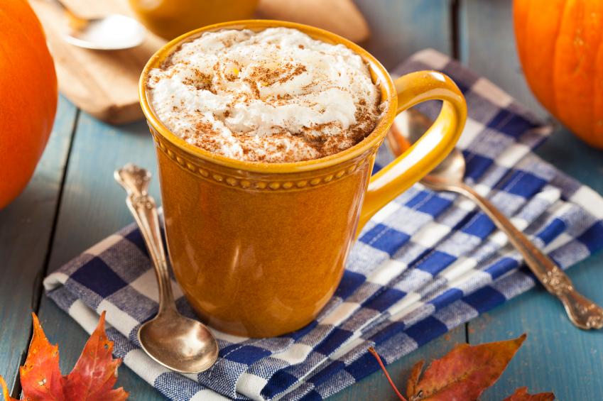 a butterscotch latte