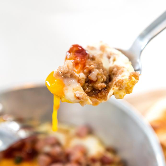 Cheesy breakfast casserole
