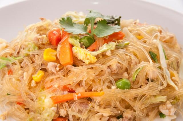 Pad Wun Sen, vermicelli noodles