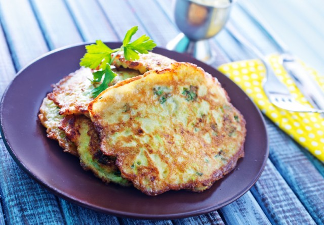 Zucchini Squash Pancakes