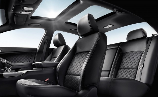 kia optima seats