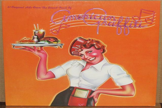The cover of 41 Original Hits from the Soundtrack of American Graffiti