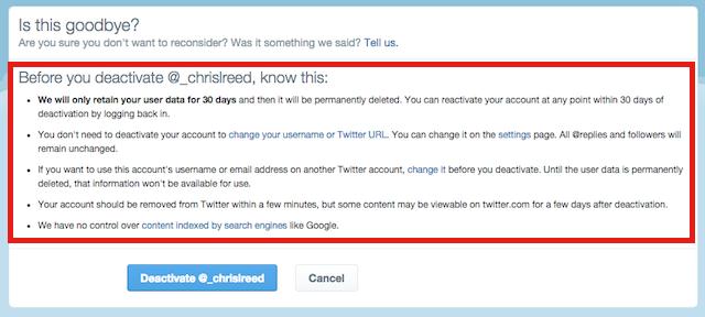 twitter-deactivate-information