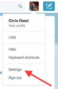 twitter-settings