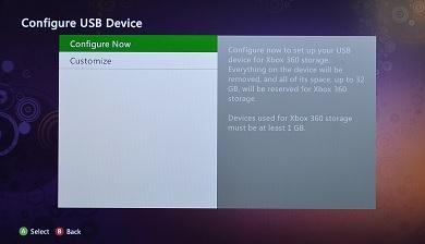 xbox 360 configure