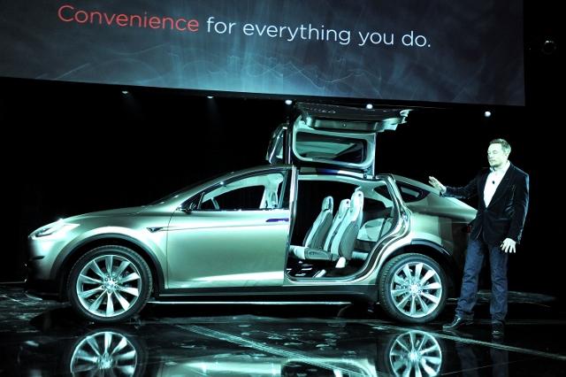 Tesla Worldwide Debut of Model X