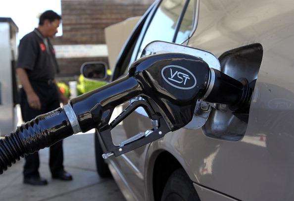 Gas pump, ethanol