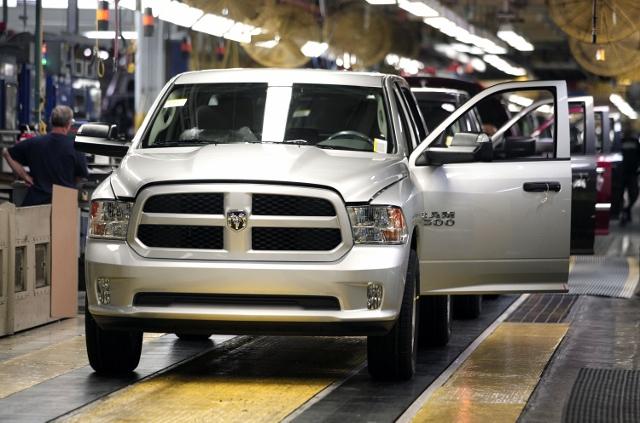 Chrysler Highlights Truck Assembly Plant In Warren, Michigan