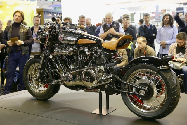 Matchless Presents Officially The Model X  Reloaded In Milan