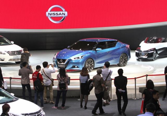 CHINA-AUTO-SHOW Nissan