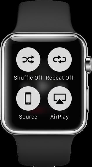 Apple Watch Force Touch context menu